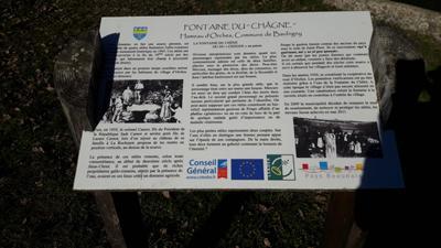L historique de la fontaine 2