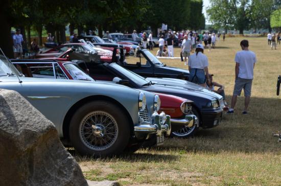 Vieilles voitures à Meudon
